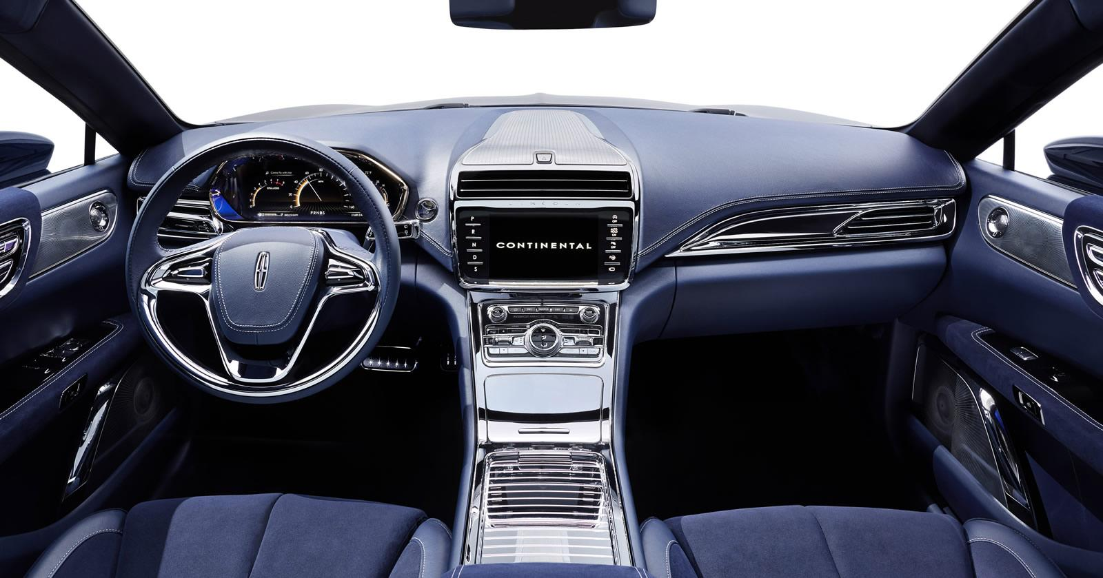 2017 Lincoln Continental Interior >> Lincoln Continental Concept revealed, previews 2016 model ...