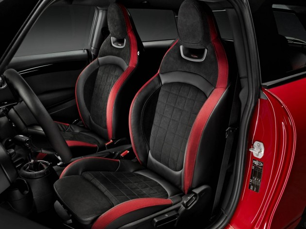 2015 MINI Cooper JCW-seats