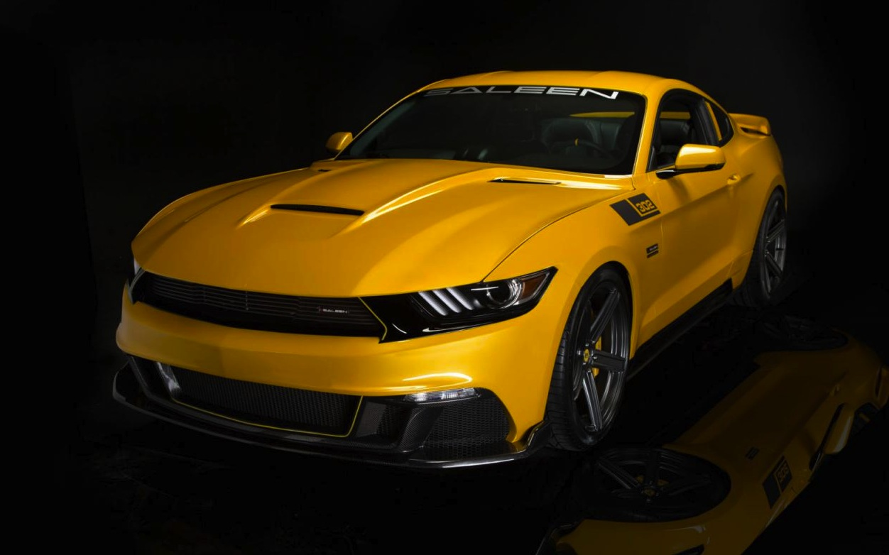 2015 Saleen S302 Black Label Mustang revealed | PerformanceDrive