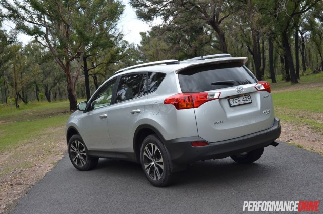 2015 Toyota RAV4 Cruiser rear side