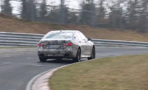 2016 BMW 7 Series-M750i maybe