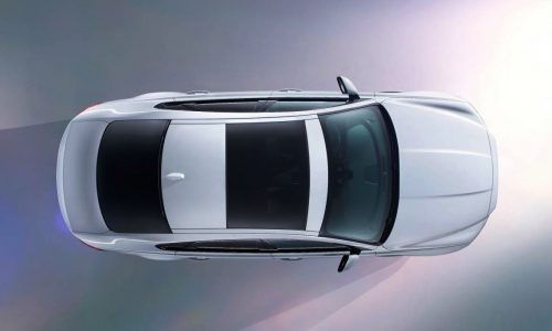 All-new Jaguar XF previewed, will debut at New York show