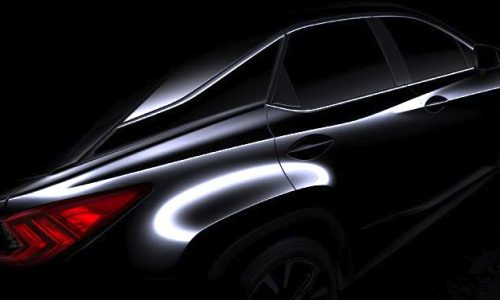 2016 Lexus RX to debut at New York show, all-new model