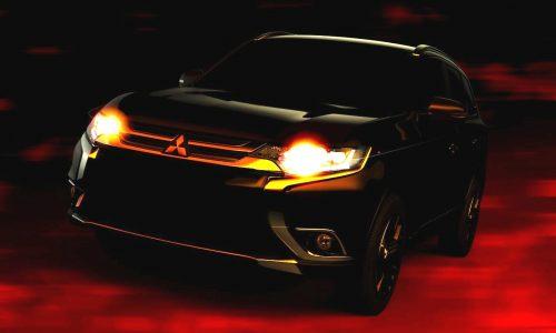 2016 Mitsubishi Outlander previewed before New York debut