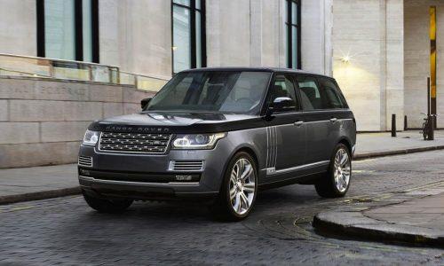 Range Rover SVAutobiography revealed, new super-luxury variant