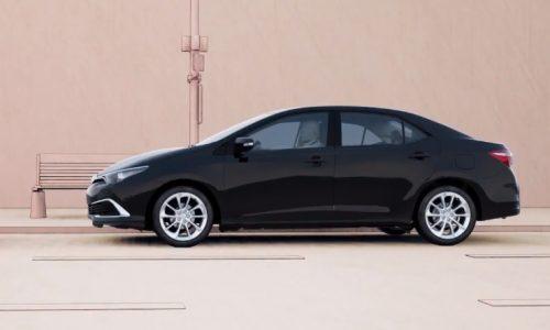 2016 Toyota Corolla Hybrid sedan revealed in safety video?
