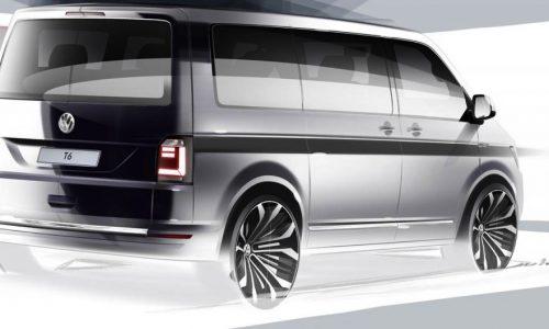 2016 Volkswagen Transporter T6 taking a sporty direction?