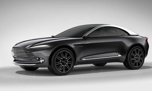 Aston Martin DBX concept revealed at Geneva, future SUV GT?