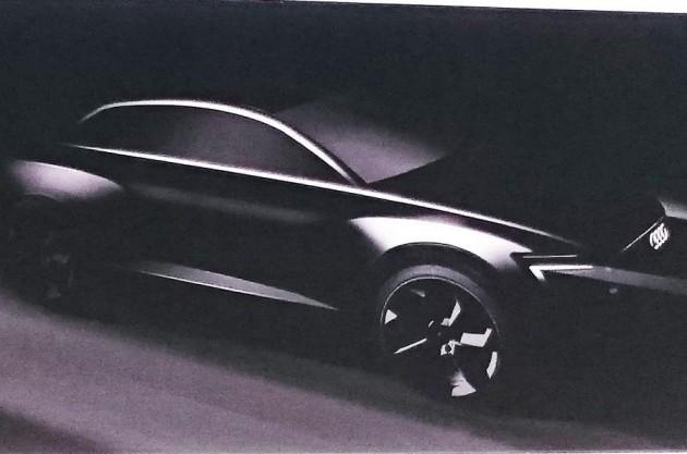 Audi Q6 preview sketch