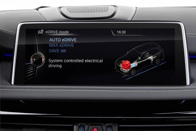 BMW X5 xDrive40e-drive modes