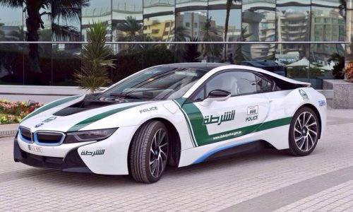 Dubai police force adds BMW i8 to its flamboyant fleet