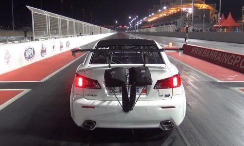 Crash: 3000hp Lexus ISF by EKanooRacing takes off like a plane