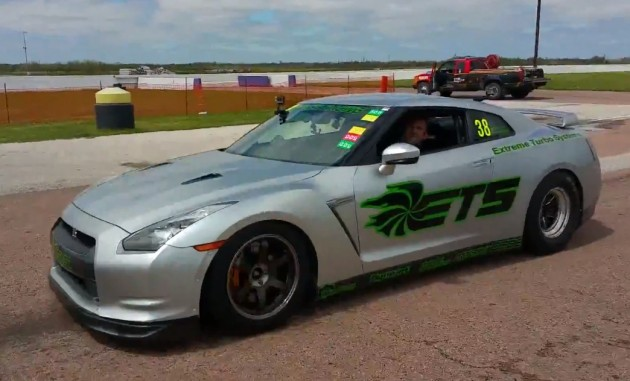 ETS Nissan GT-R record
