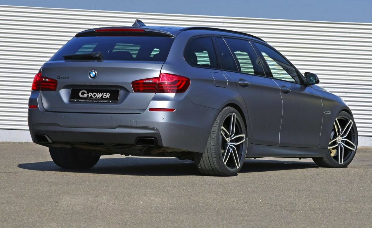 G Power Tunes Bmw M550d Touring Fastest Diesel Wagon In