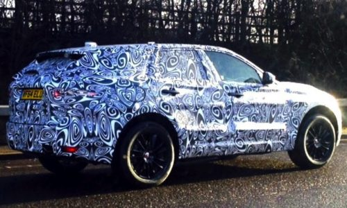 Jaguar F-Pace prototype spotted in the UK