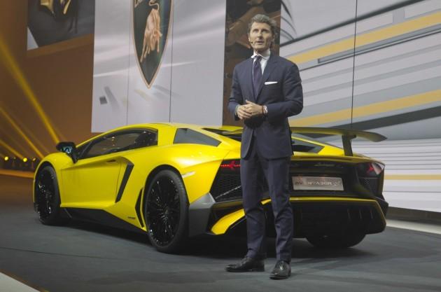 Lamborghini Aventador SV-Stephan Winkelmann
