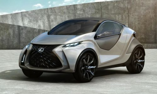 Lexus LF-SA concept revealed in leaked images