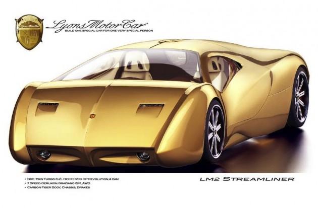 Lyons Motor Car LM2 Streamliner-front