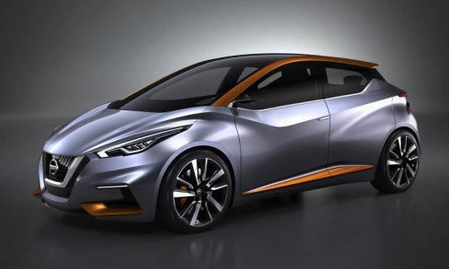 Nissan Sway concept is a sporty take on a future Micra