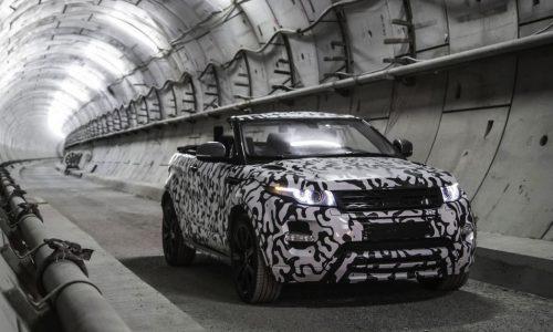 Range Rover Evoque convertible confirmed, arriving 2016