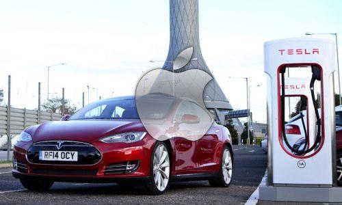 Apple CEO Tim Cook shrugs off Tesla partnership idea