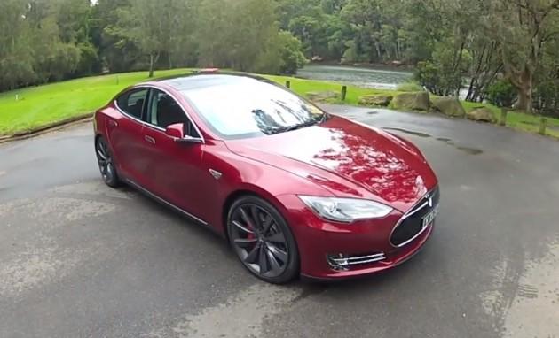 Tesla Model S POV review