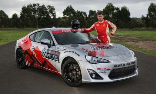 Toyota 86 Pro-Am racing series for Australia, to run with V8 Supercars