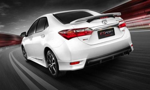Toyota Corolla Nurburgring edition announced in Thailand