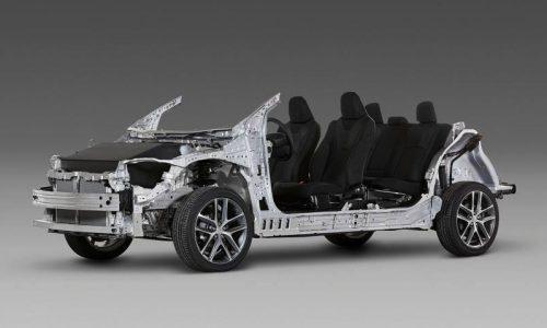 Toyota announces TNGA global architecture; stronger, lighter, more efficient