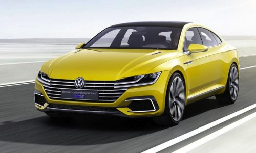 Volkswagen Sport Coupe Concept GTE unveiled at Geneva