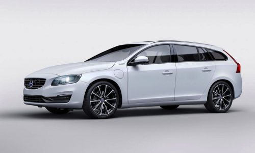 Volvo V60 D5 Twin Engine Special Edition unveiled at Geneva