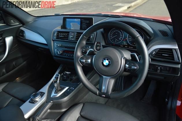 2015 BMW M235i-interior