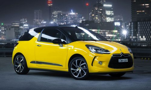 2015 Citroen DS3 on sale from $33,990, new 121kW engine
