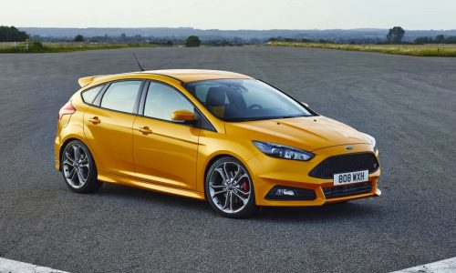 2015 Ford Focus ST 'LZ' on sale in Australia from $38,990