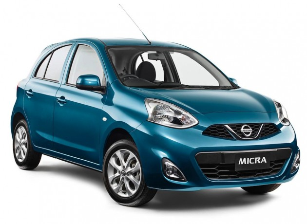 2015 Nissan Micra front