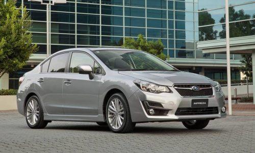 Updated 2015 Subaru Impreza on sale in Australia from $21,400