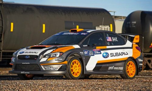 2015 Subaru WRX STI 'VT15x' rallycross racer revealed