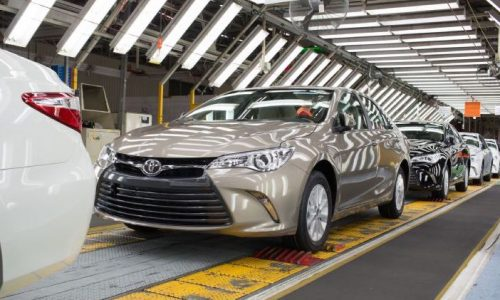 2015 Toyota Camry production starts in Australia, on sale in May