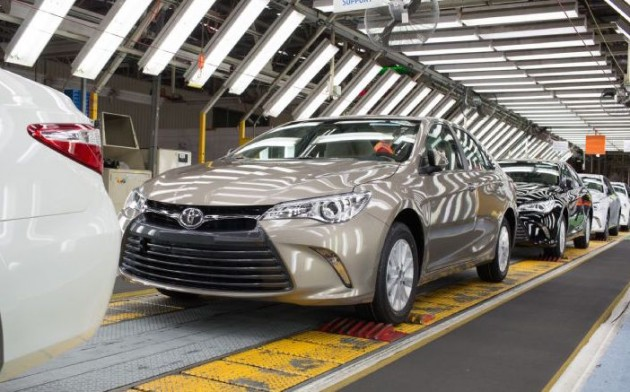 2015 Toyota Camry-Australia production