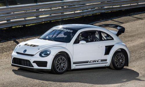 Volkswagen reveals more potent 2015 Beetle Rallycross car