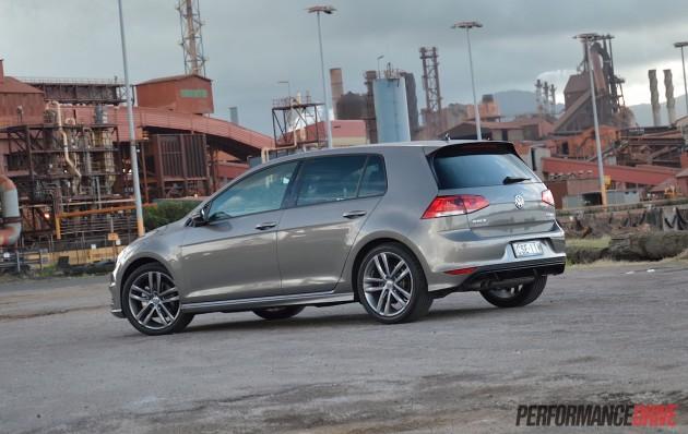 2015 Volkswagen Golf 110TDI R-Line-rear