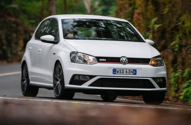 2015 Volkswagen Polo GTI driving