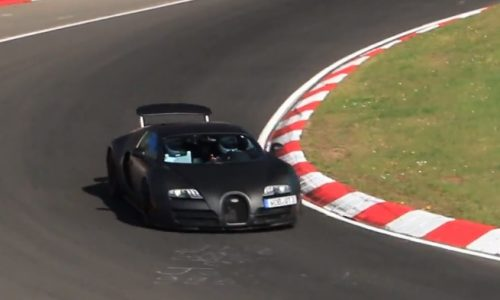 Video: Next-gen Bugatti Veyron 'Chiron' spotted, over 1500hp likely