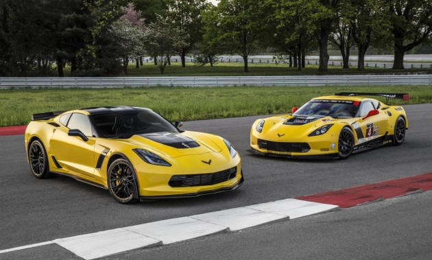 2016 Chevrolet Corvette Z06 C7.R editions