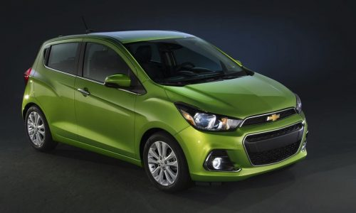 2016 Chevrolet Spark unveiled, will become Holden Barina Spark