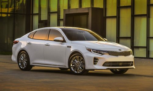 2016 Kia Optima officially unveiled at New York show