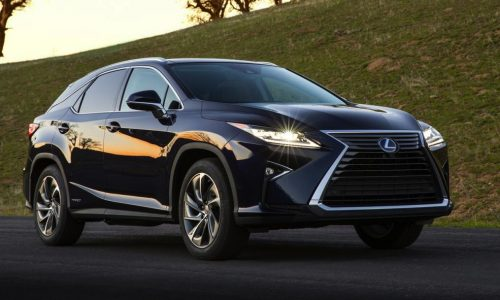 All-new 2016 Lexus RX officially revealed