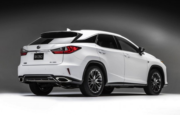 2016 Lexus RX F Sport-rear