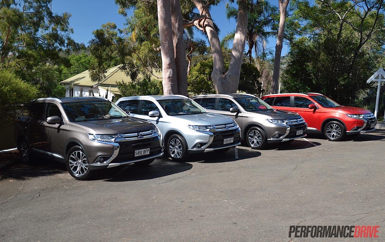 2016 Mitsubishi Outlander review - Australian launch (video