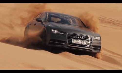 Video: Can you drive an Audi A7 Sportback on the sand?
